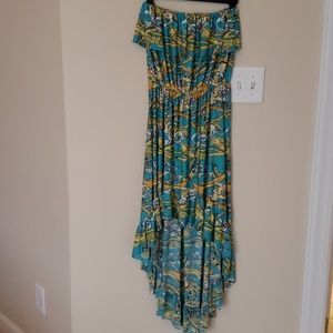 NWOT Elan strapless dress